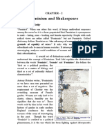 feminism and shakespeare prject pdf