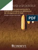 Tolerancia a Sequía y a Deficiencia de Nitrógeno en El Maíz