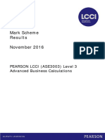 LCCI L3 Advanced Business Calculations Nov 2016_MS