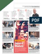 Jaque a Maduro (en Peru 21)