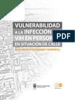 Vulnerabilidad a la infección VIH en personas en situación de calle