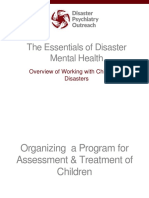 5. Overview of Working With Children in Disasters