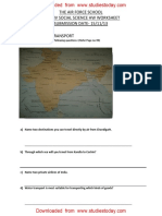 CBSE Class 4 Social Studies Worksheet - Means Of Transport (2).pdf