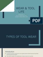 Tool Wear & Tool Life