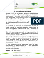 Comunicado EPM PHI No143
