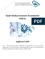 SMLE Applicant Guide
