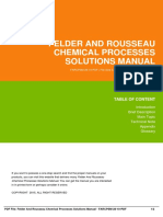 IDf3e047992-felder and rousseau chemical processes solutions manual