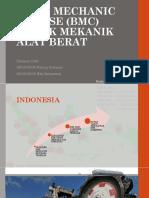 Basic Mechanic Course (Bmc) Untuk Mekanik