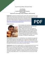 Parenting With Children With Speech Delays