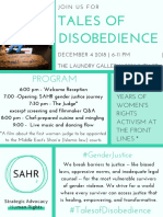 Tales of disobedience