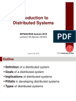 Distributed System Intro