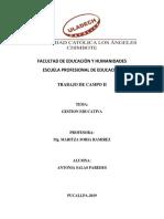 Gestion Eduactiva Antonia