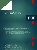 Cinemática 06 de Abril