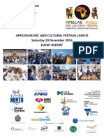 2016 African Music and Cultural Festival Event Report Final