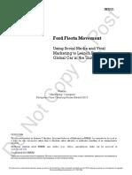 Case 2 - Ford Fiesta Movement