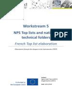 I-TREND WS5 Toplist Elaboration French Case