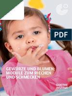 Modulo sentido del olfato y gusto (alemán)