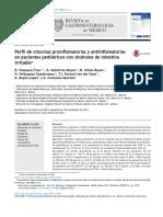 Perfil de Citocinas en Pacientes Pediatricos Con SII (1)