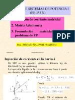 Formulacion matricial