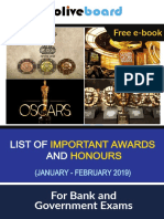 Awards and Honours JanFeb2019