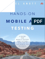 Hands-On Mobile App Testing a Guide for Mobile Testers and Anyone Involved in the Mobile App Business