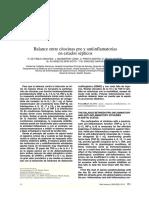 Balance de Citocinas Pro y Anti Inflamatorias en Sepsis (1)