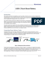 Usb c Buck Boost Battery Charging