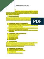 Cuestionario Unidad 1 Metrologia