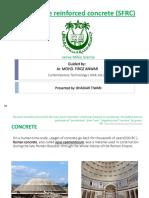 M.arch. Fibre Reinforced Concrete
