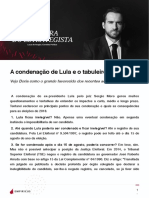 A Condenacao de Lula e o Tabuleiro Para 2018