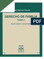 DERECHO DE FAMILIA - TOMO II (RENÉ RAMOS PAZOS).PDF