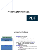 Preparing for Marriage 1