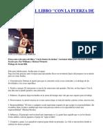 Resumen Del Libro Con La Fuerza de Jordan