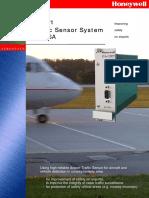 Airport Traffic Sensor System