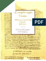 · Evangelio según Tomás · Biblioteca Copta de Nag Hammadi (NHC II, 2) · H.T.Elpizein · Ediciones Epopteia ·.pdf