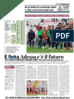 La Provincia Di Cremona 12-05-2019 - E' Finita