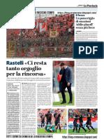 La Provincia Di Cremona 12-05-2019 - Rastelli