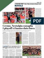 La Provincia Di Cremona 12-05-2019 - Polpacci & Nuvole