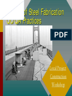Steel Fabrication QA-QC