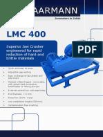 Laarmann Jaw Crusher Lmc 400 Product Brochure