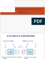 DATA Converter Circuits