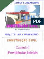 1. Cap. I - Providencias Iniciais