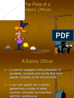 Role of Safety Practitioners