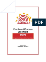 Enrollment Process Essential