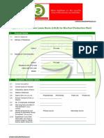 Zevik Petroleum & Gas (Zevik Urja) Application for Land on Lease for Production Plant