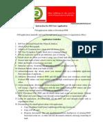 Zevik Petroleum & Gas (Zevik Urja) Application Guidline