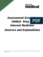 827e ..Int. Medicine Explanations