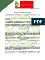 Zevik Petroleum & Gas (Zevik Urja) Special Terms of Contract
