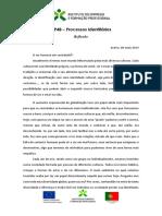 CP4B – Processos Identitários