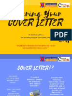 how to do your cover letter